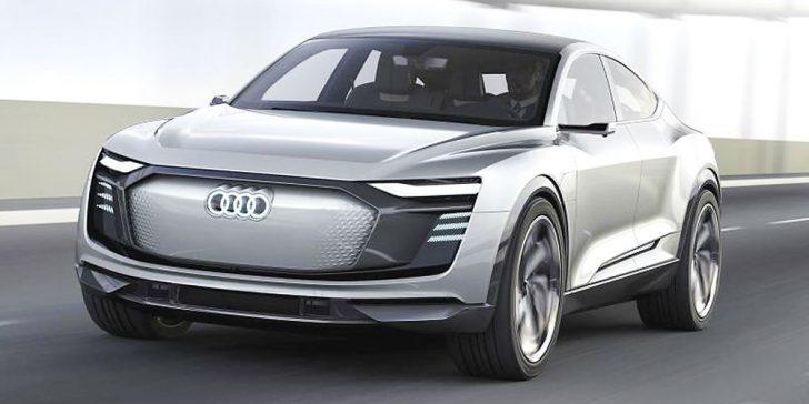 Електромобіль Audi E-Tron GT
