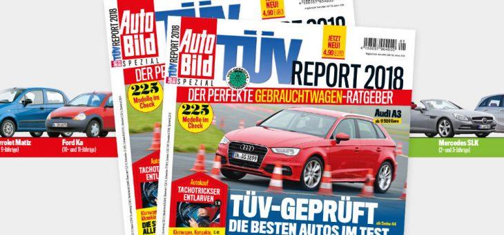 Німецький рейтинг надійності автомобілів TÜV-Report 2018
